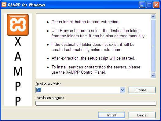 Instalação do XAMPP